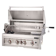 Sunstone Stainless Steel 4 Burner Gas BBQ Grill