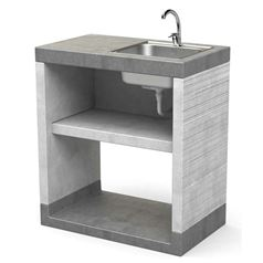 Venit Sink Unit with Shelf