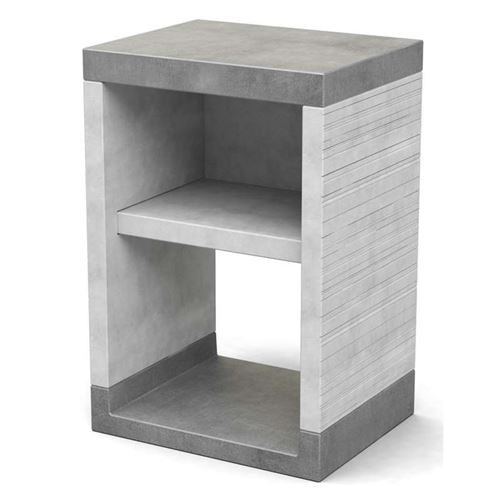 Venit Side Stand with Shelf Module