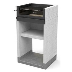 Venit Built-in Wood Burning Barbecue