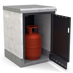 Kitaway Gas Bottle Storage Cupboard