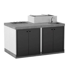 T00275 Venit Outdoor Kitchen Island Pack 5