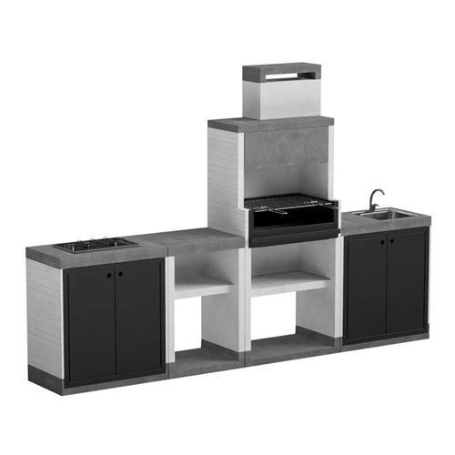 T00279 Venit Outdoor BBQ Kitchen Pack 9