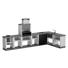 T00281 Venit Outdoor BBQ Kitchen Pack 11