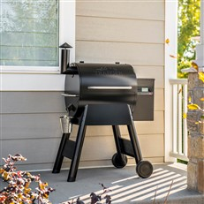 Traeger Electric BBQ Grill and Pellet Smoker Pro Series 575