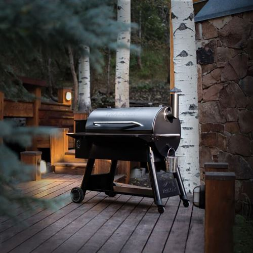 Traeger Electric BBQ Grill and Pellet Smoker Pro Series 34