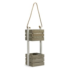 Two Tier Hanging Plant Boxes