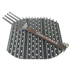 Set of 3 Interlocking GrillGrates for BBQs with an 18 Inch Diameter