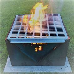 Yorkshire Grill Outdoor Fire Pit and BBQ