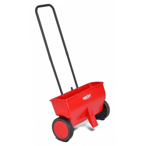 Manual Seed Spreader On Wheels With Adjustable Regulator