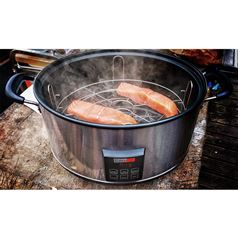 Digital Electric Smoker with Hot or Cold Smoke