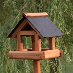 Sherringham Bird Table with Slate Roof